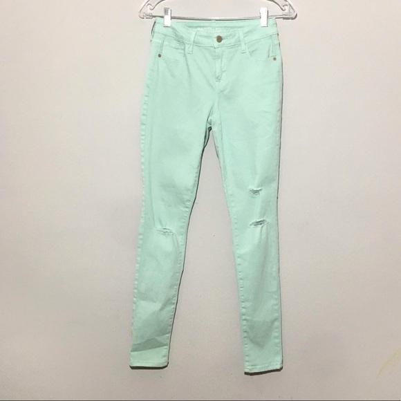 Old Navy Denim - Old Navy | Rockstar Mid-Rise Distressed Jeans 2R
